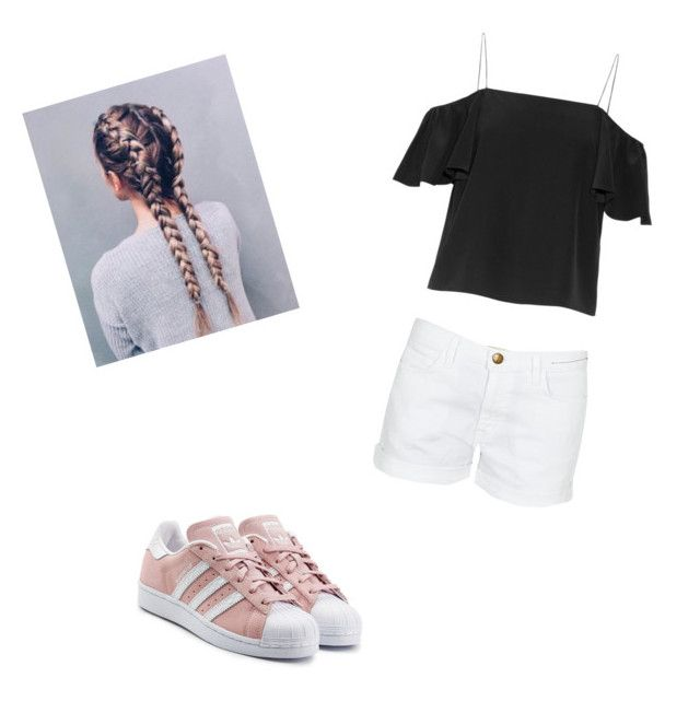"""""""Missing summer - Casual"""" by emmab1211 on Polyvore featuring Fendi, Current/Elliott and adidas Originals"""
