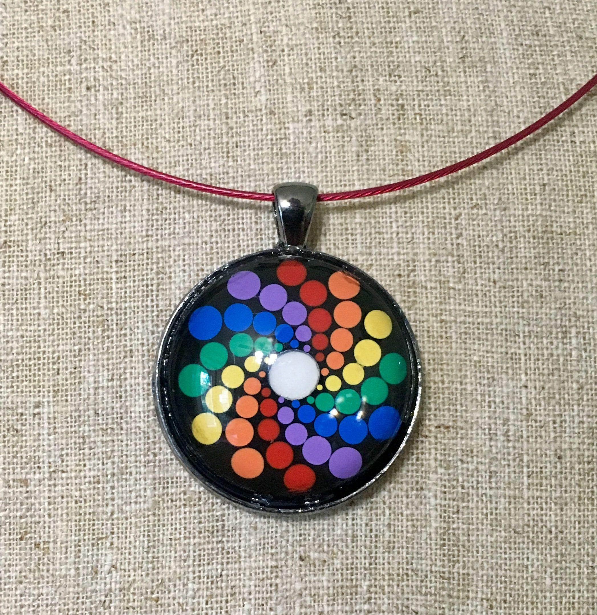 Design #8 Original Design Mandala Necklace Shipping Included!