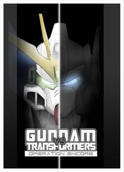 GUNDAM vs TRANSFORMERS Cover 1 by Tesla-Koi.deviantart.com on @deviantART