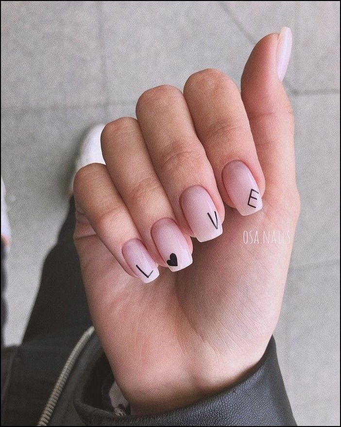 91+ simple short acrylic summer nails designs for 2019 – page 6 - All For Hair Color Trending