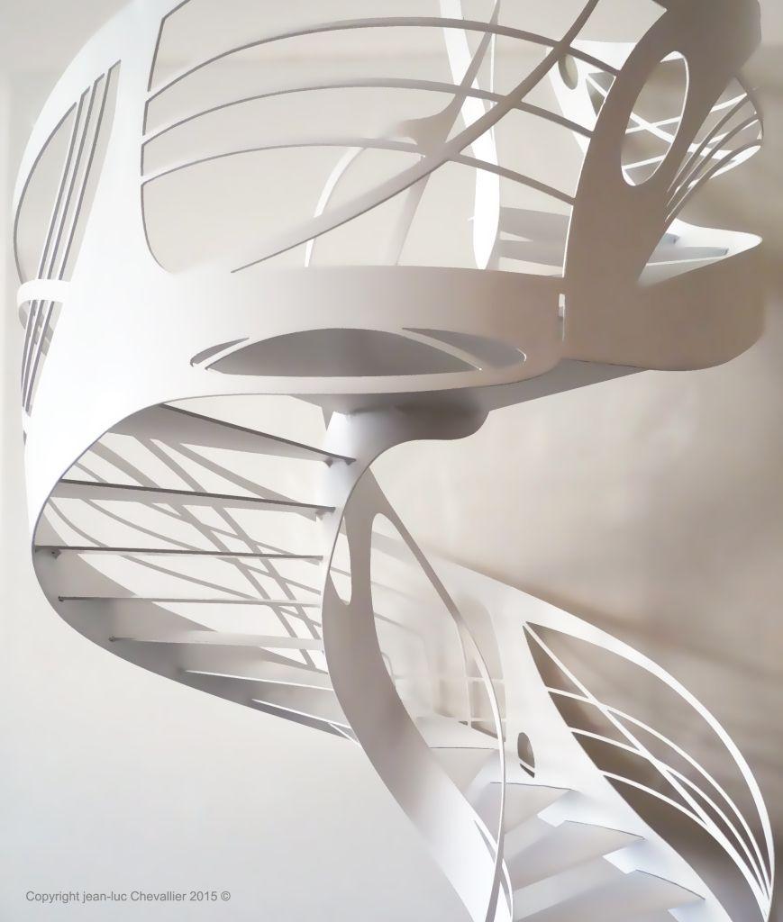 escalier colima on l art du design h lico dal more. Black Bedroom Furniture Sets. Home Design Ideas