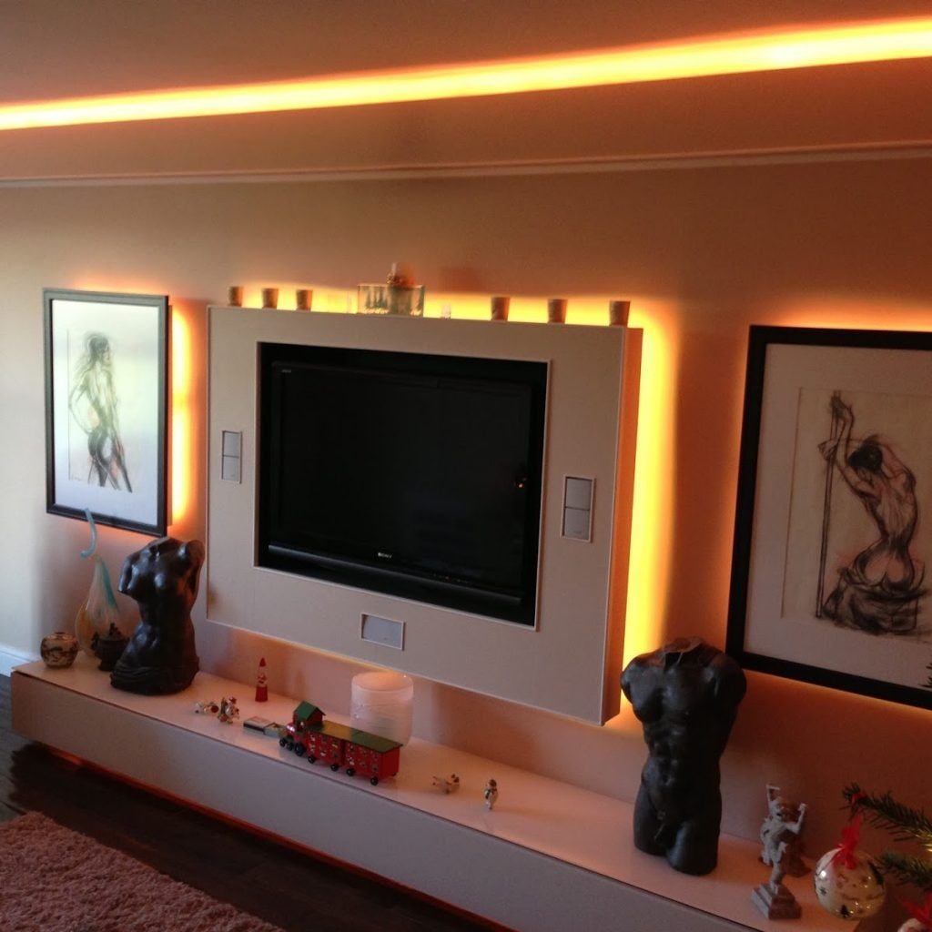 Led Strip Lighting Ideas For Living Room Living Room Lighting