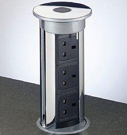 The Pop Up Power Socket Kitchen Secrets Kitchen Office