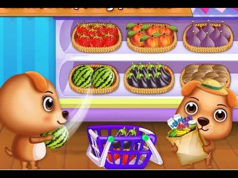 Sweet Puppy Supermarket - Have fun at The Supermarket - Educational and ...