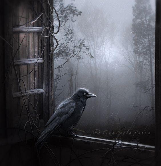 Rainy Night by Aeternum-Art.deviantart.com on @deviantART: