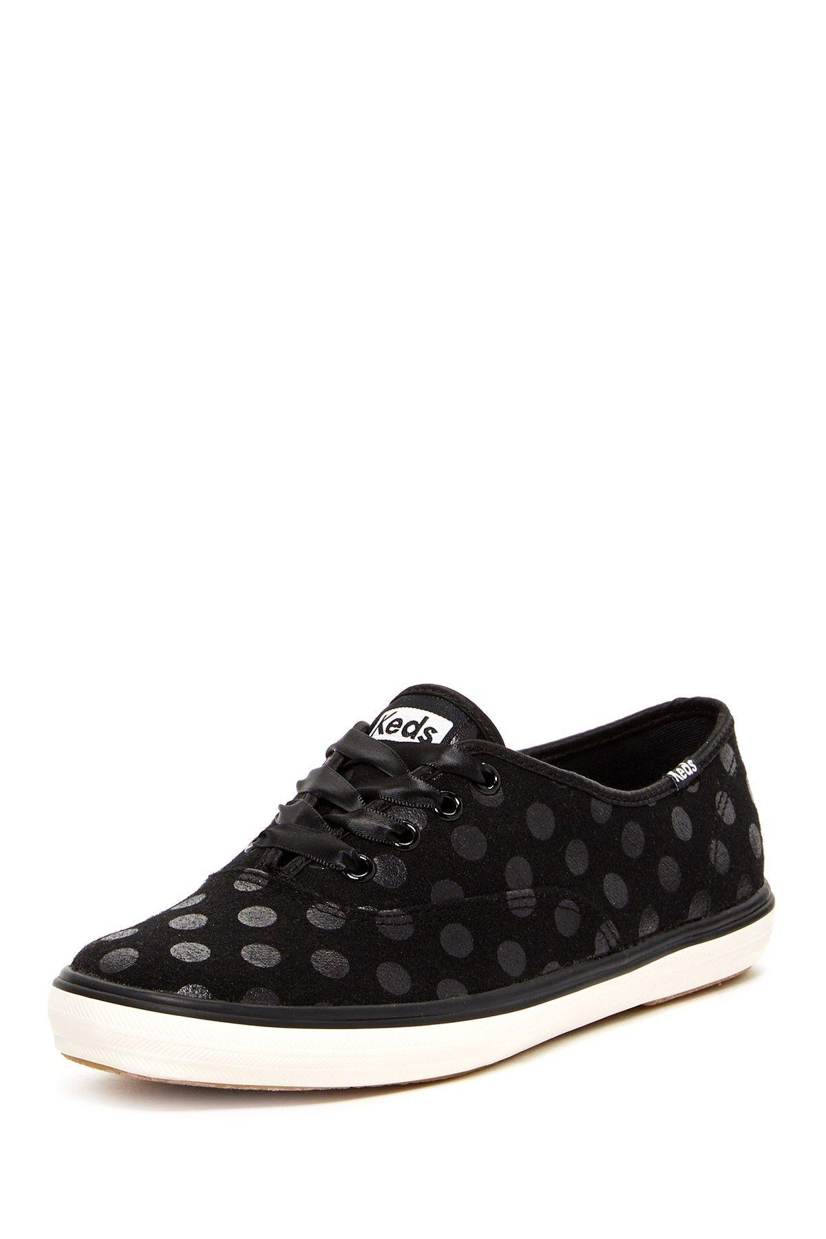 c4f806c4b7f4 Keds Champion Wool Blend Dot Lace-Up Sneaker