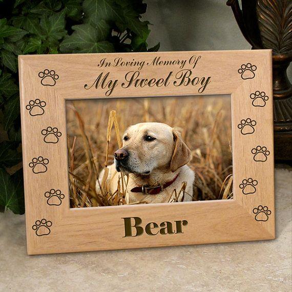 Pet Loss Dog Memorials Loss Of Pet Picture Frames Pet Memorial