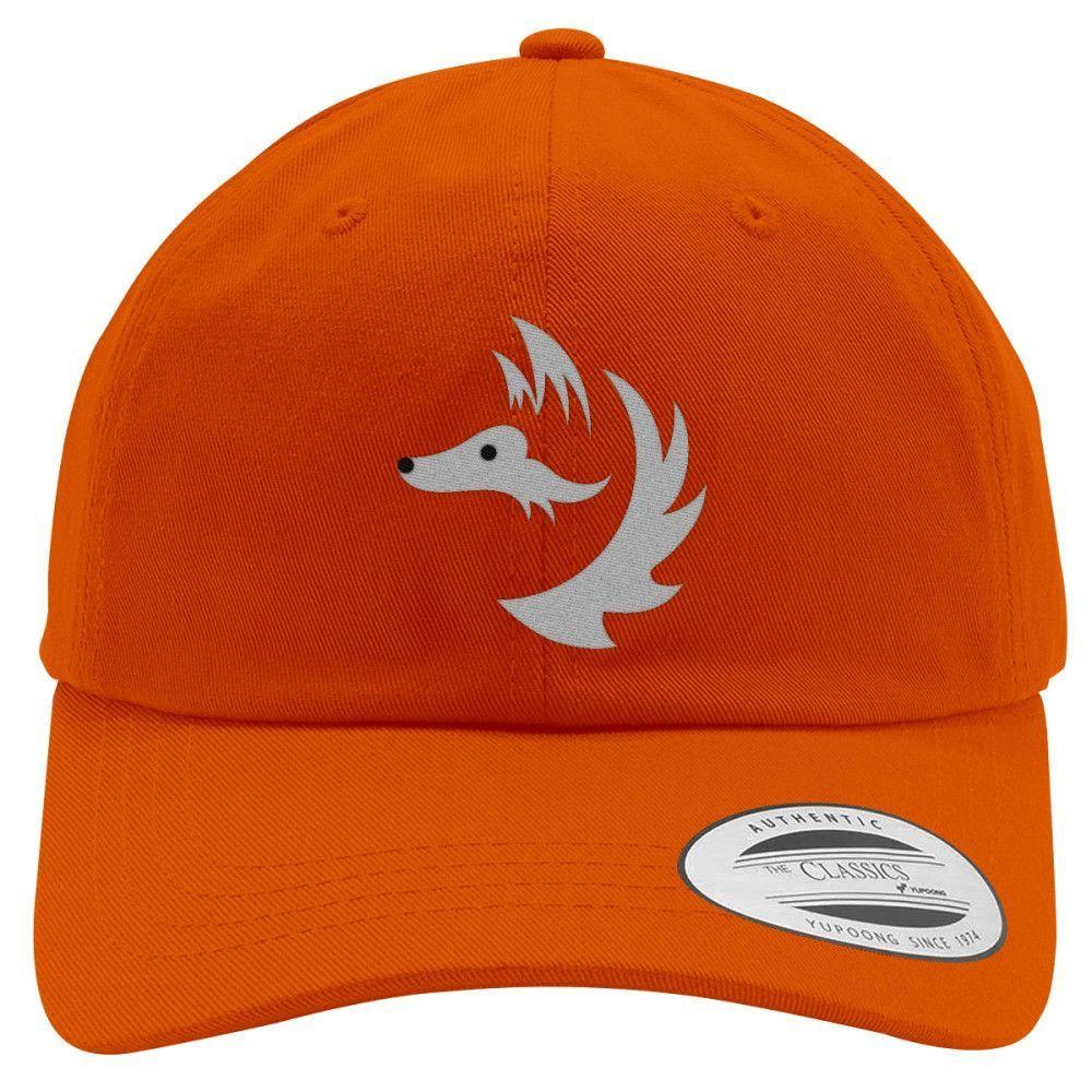 Fox Face Cotton Twill Hat