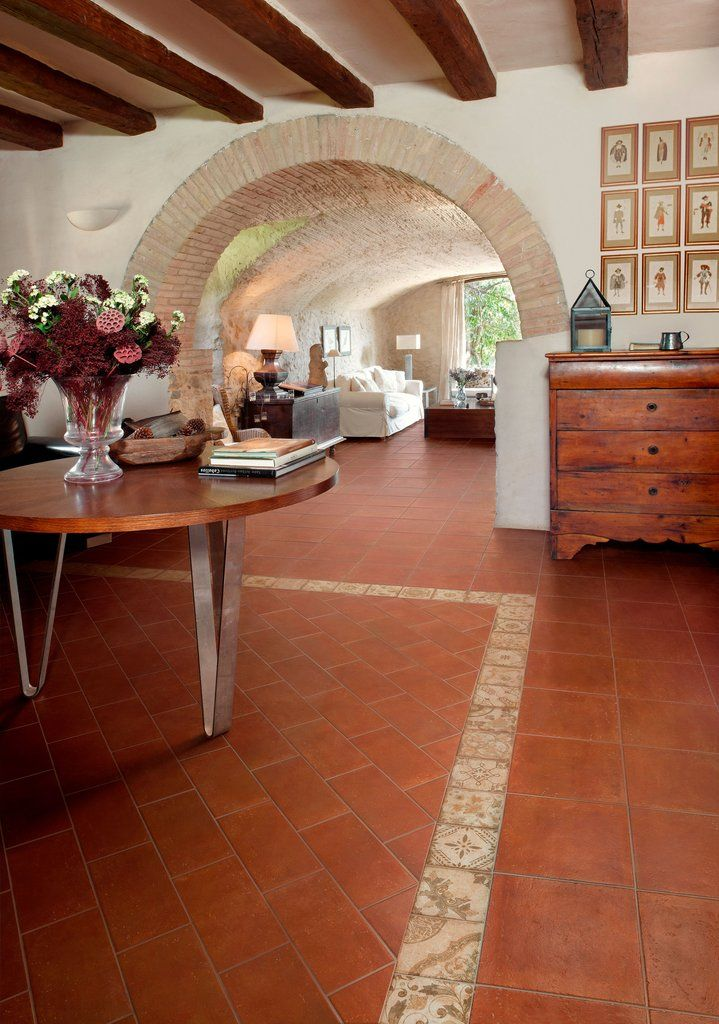 Pin By Hdi 19 On Southwest House With Images: Porcelain Tile Floor Living Room, Mexican Home Decor