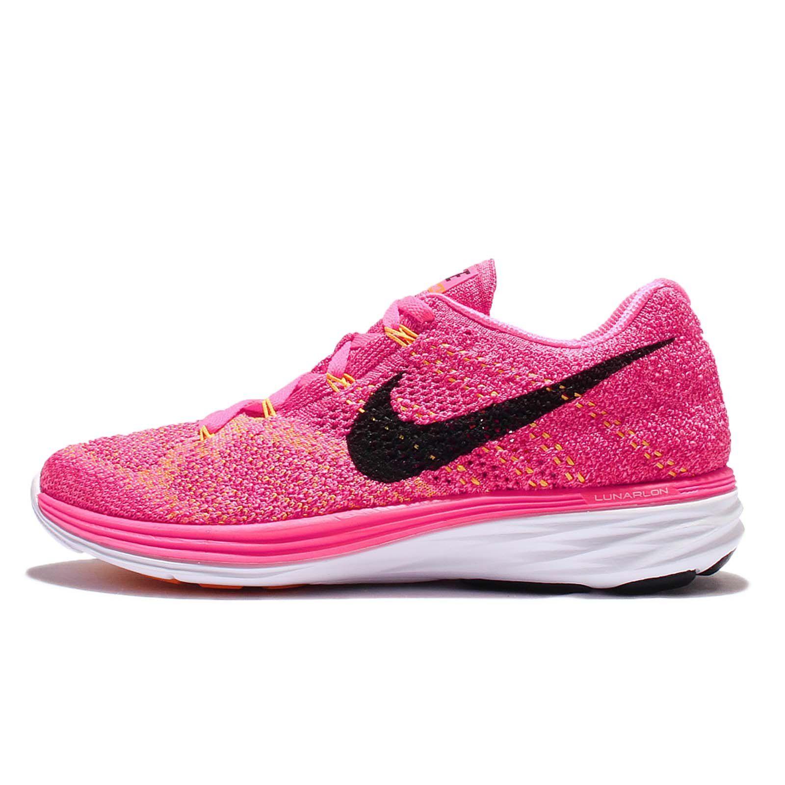 991bdd7e30d5 Nike Women s Flyknit Lunar3 Running Shoe Pink Blast Womens Size 9 US. Model  Number  698182603. Gender  womens. Color  PINK BLAST BLACK-FIREBERRY-LASER  ...
