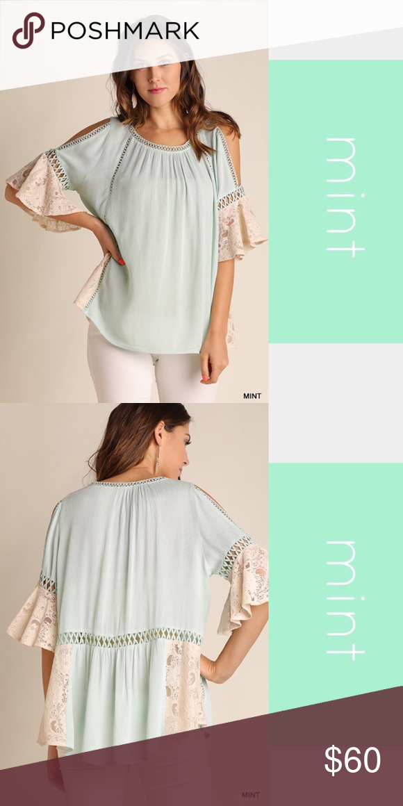 0169eb1e0df2c Cold Shoulder Top NWT Cold Shoulder Top with Lace and Cut Out Details.  Quality Boutique Item with tag. No trades. I am wearing the yellow in ...