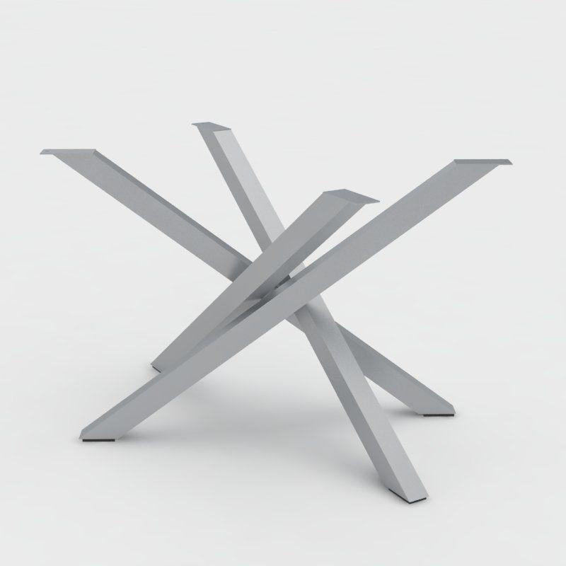 Gambe Per Tavoli Design.Gambe Tavolo Basamento In Acciaio Polinesia Gambe Tavoli