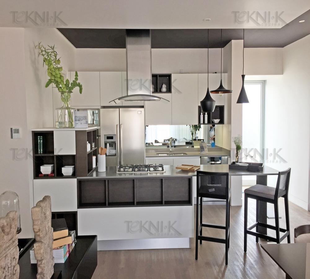 Esta Cocina Nos Permite Apreciar La Simplicidad Y Libertad De  # Budnik Muebles De Cocina