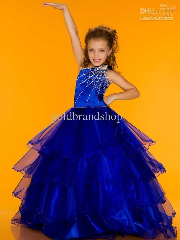 Hermosa Vestido De La Dama Azul Larga Friso - Vestido de Novia Para ...