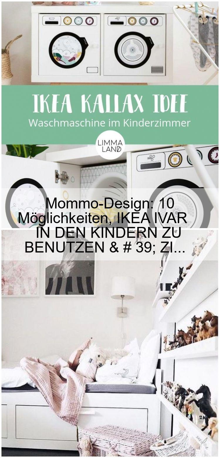 Mommo-Design: 10 Möglichkeiten, IKEA IVAR IN DEN KINDERN ZU BENUTZEN & # 39; ZI…