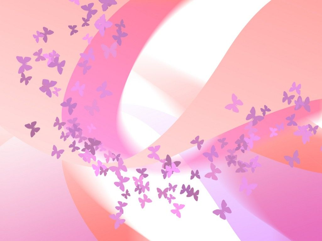 Cute Butterfly Background Design