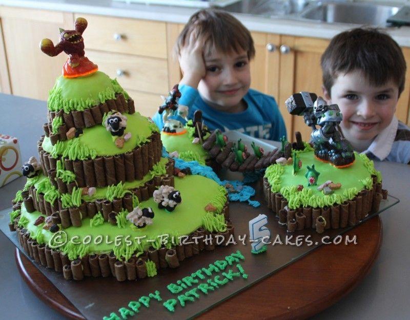 Coolest Skylanders Cake Skylanders Birthday Cakes And Birthdays