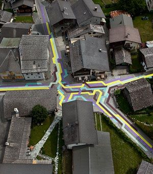 color coded paths