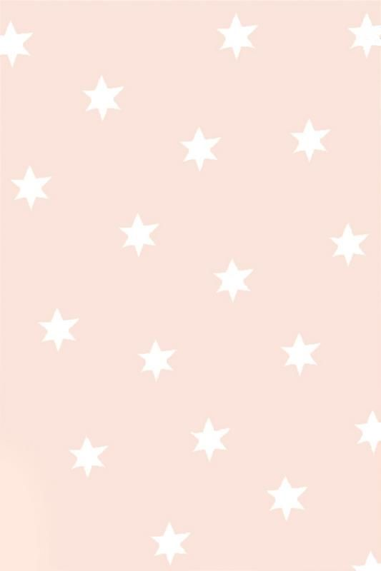 Pale blush pink sketch stars iphone wallpaper phone background lock screen