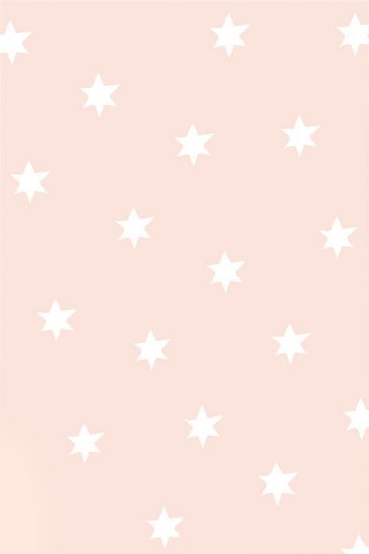 Pale blush pink sketch stars iphone wallpaper phone background lock screen