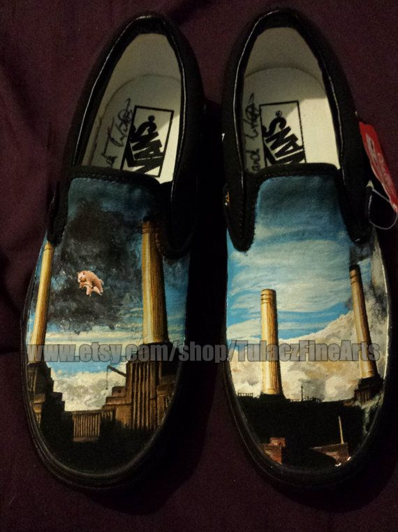 406e071613 Custom Pink Floyd Shoes Women s size 8 Men s 6.5 by TulaczFineArts ...