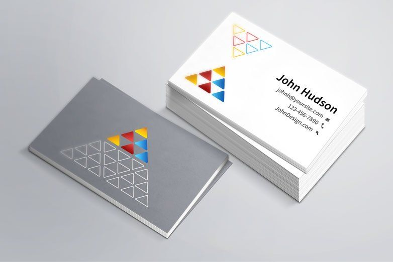 Creating professional business cards is easy with adobe spark. Clube Do Design Free Business Card Mockup Business Cards Creative Templates Free Business Card Templates