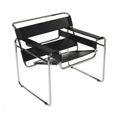 Icons of Design Wassily Chair (Model B3 chair). Designer