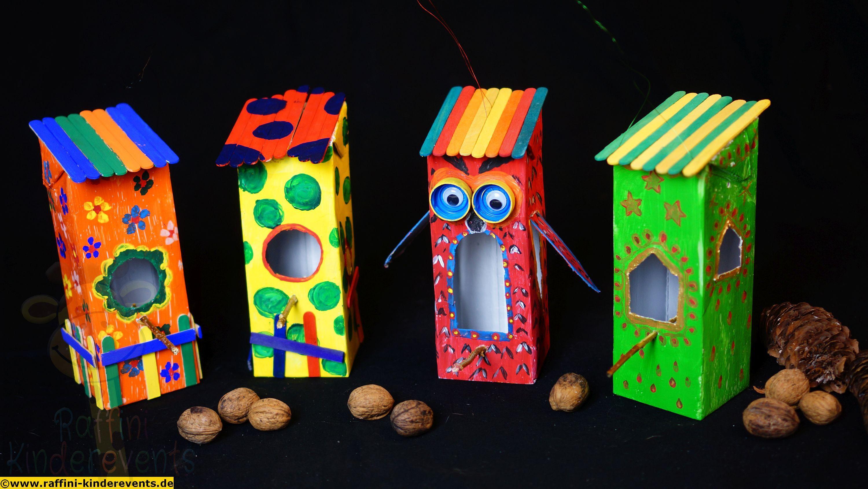 recycling basteln mit kindern diy crafts 3 kinder basteln pinterest. Black Bedroom Furniture Sets. Home Design Ideas