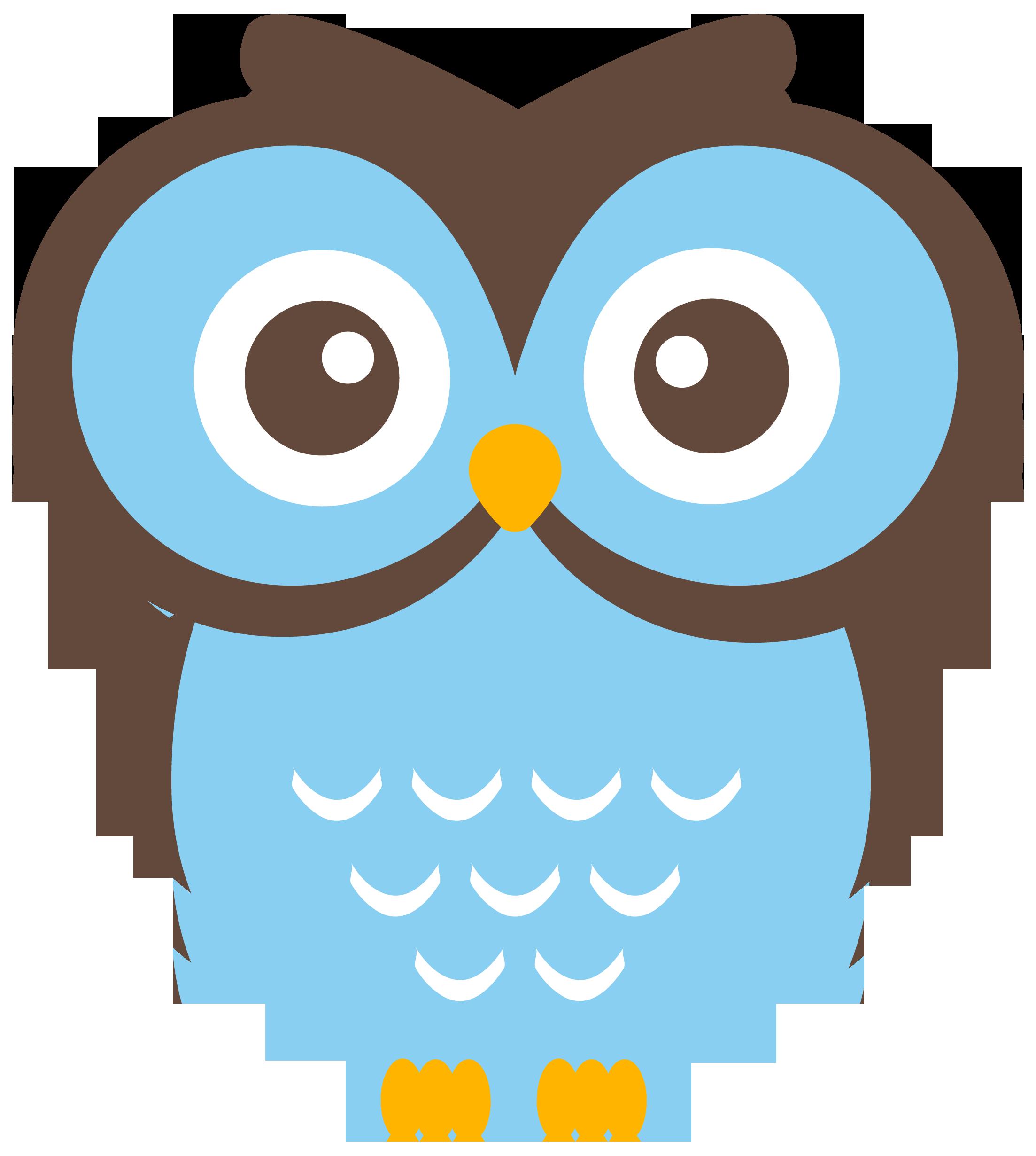 cute owl clip art - HD2206×2460