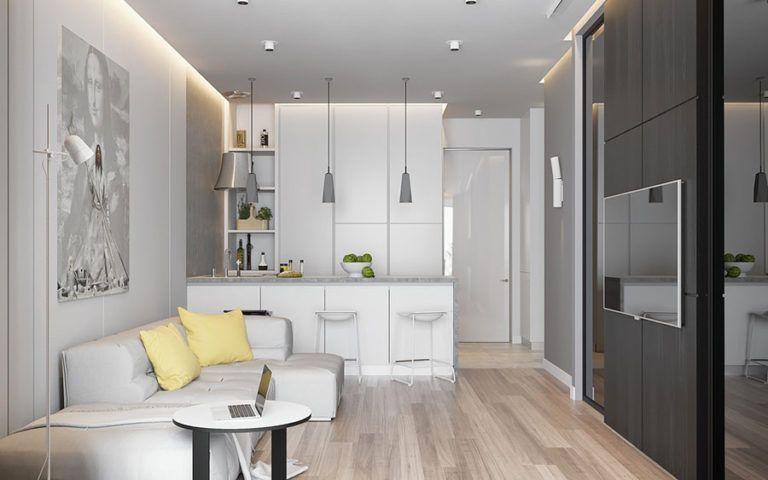 Come Arredare Un Open Space Di 20 30 Mq Mondodesign It Arredamento Salotto Cucina Arredamento Design Piccoli Spazi