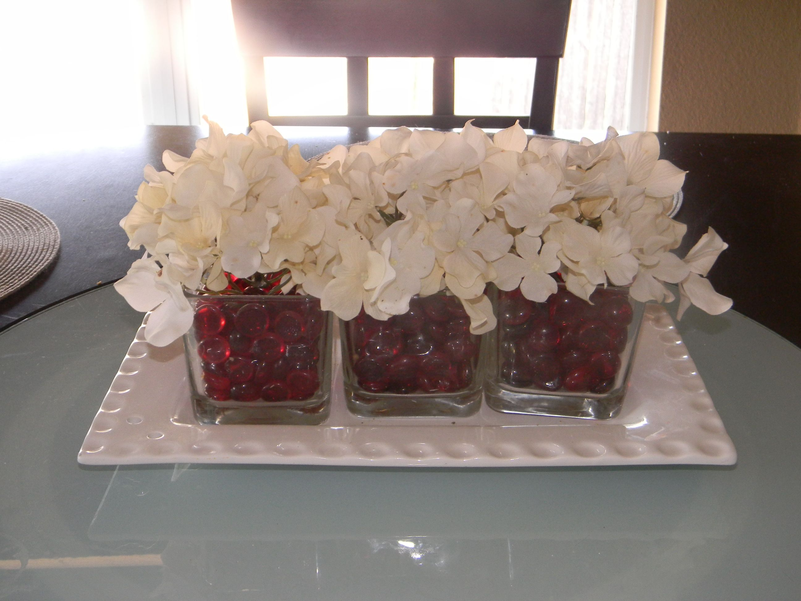 kitchen table centerpieces pictures