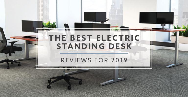 20 Best Electric Standing Desk Reviews For 2019 Desk Adjustable