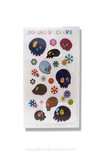 Murakami stickers