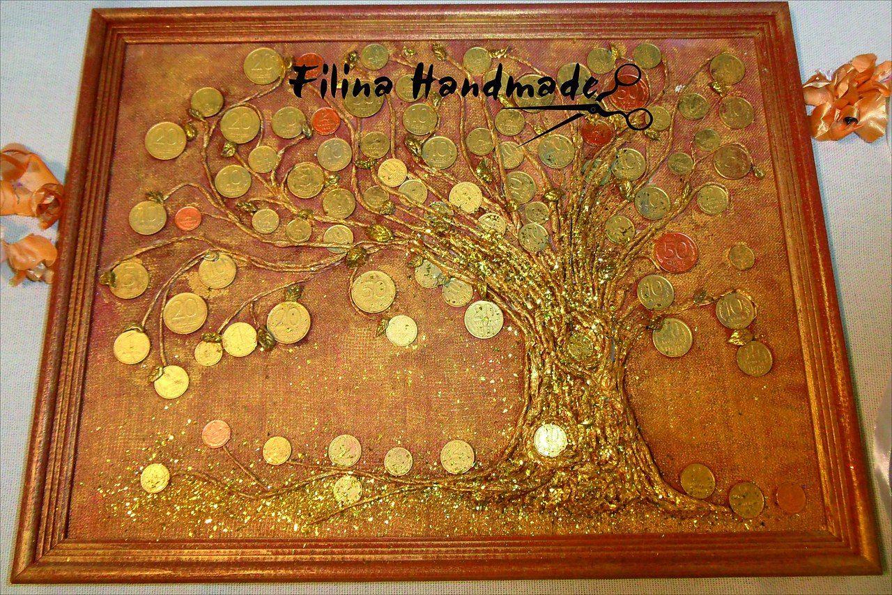 денежное дерево своими руками из монет фото элемент преобразует электрические