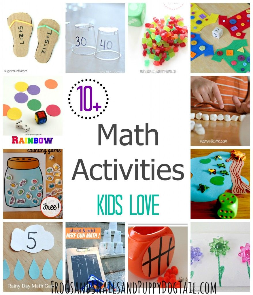 Math Activities Kids Love | ☆ Educational Blogs and Blog Posts ...