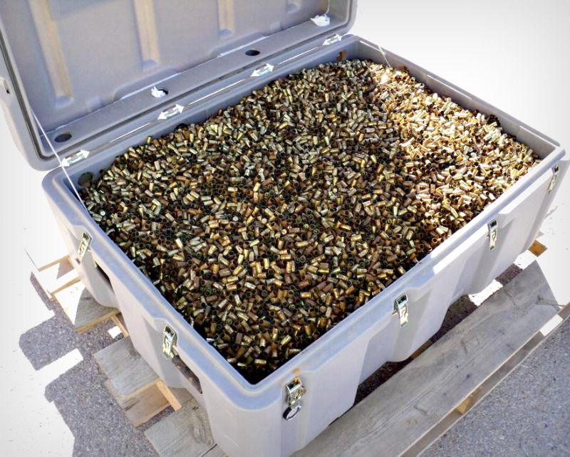 Any Reloaders Need Brass 700 Lbs Of 9mm Fired Brass