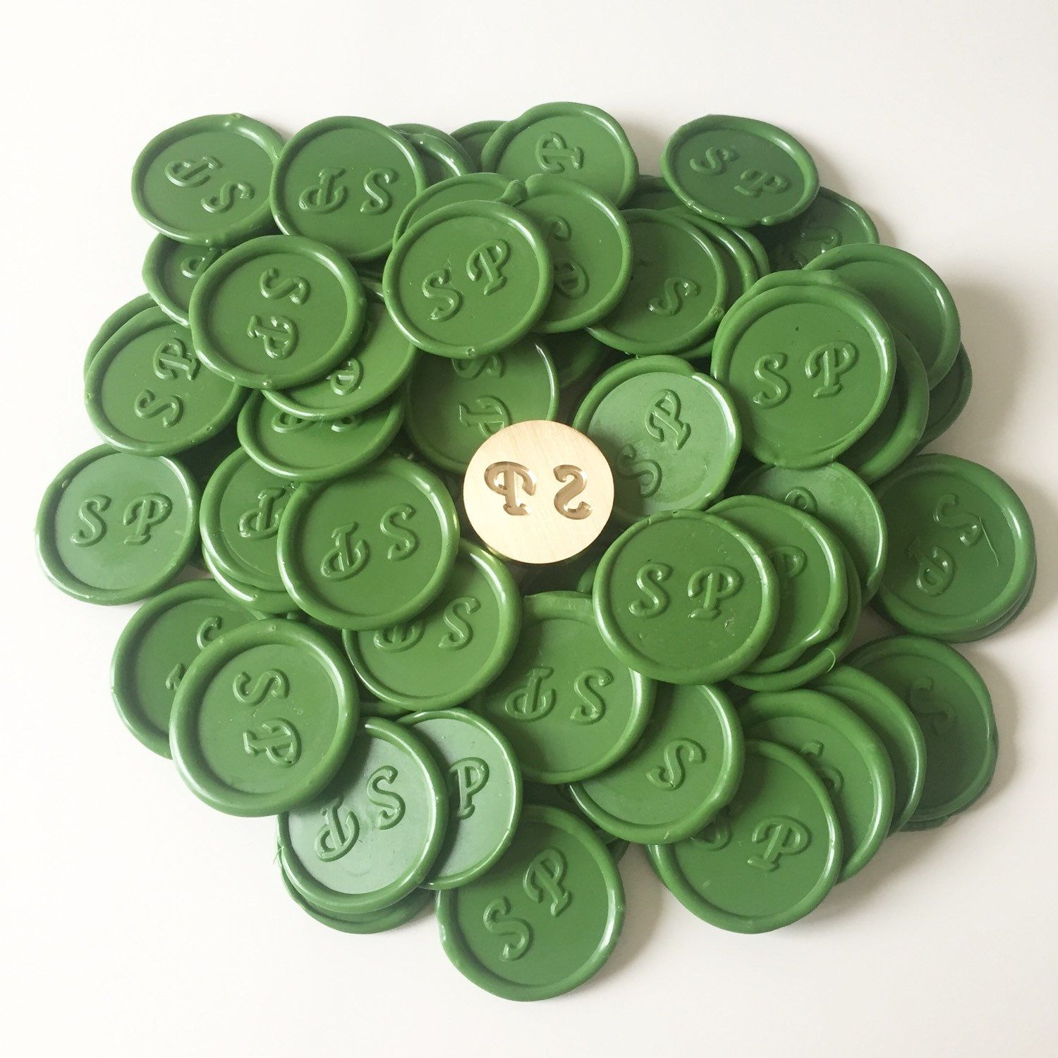 Handmade Wax Seal Adhesive stickers for 50