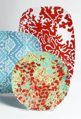 Melamine plates from University Park designer Megan Adams Brooks  sc 1 st  Pinterest & University Park designer brings fresh tabletop designs to Neiman ...