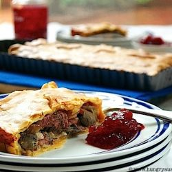 Chicken, Bacon and Mushroom Pie - an Australian-Chinese interpretation of a German dish borrowed from the French and English!