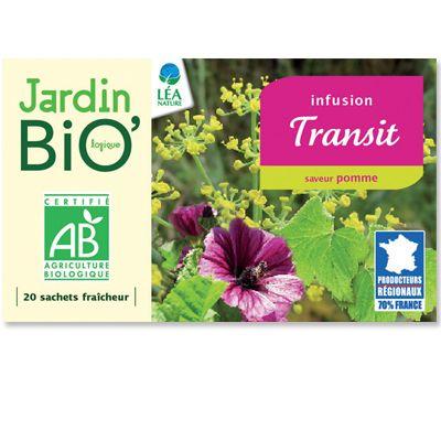 Infusion Transit Bio Bio Sante Bien Etre Tisane