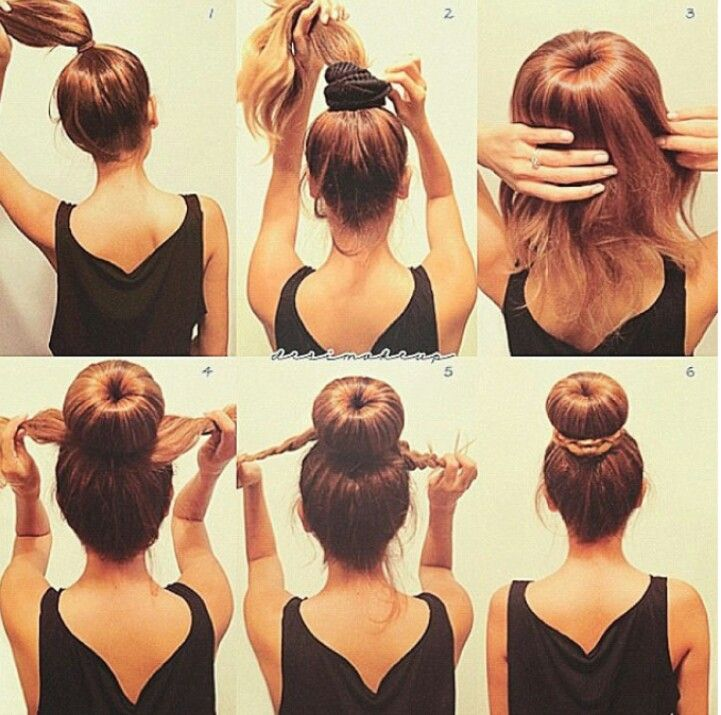 If only my hair was long enough to do this :(