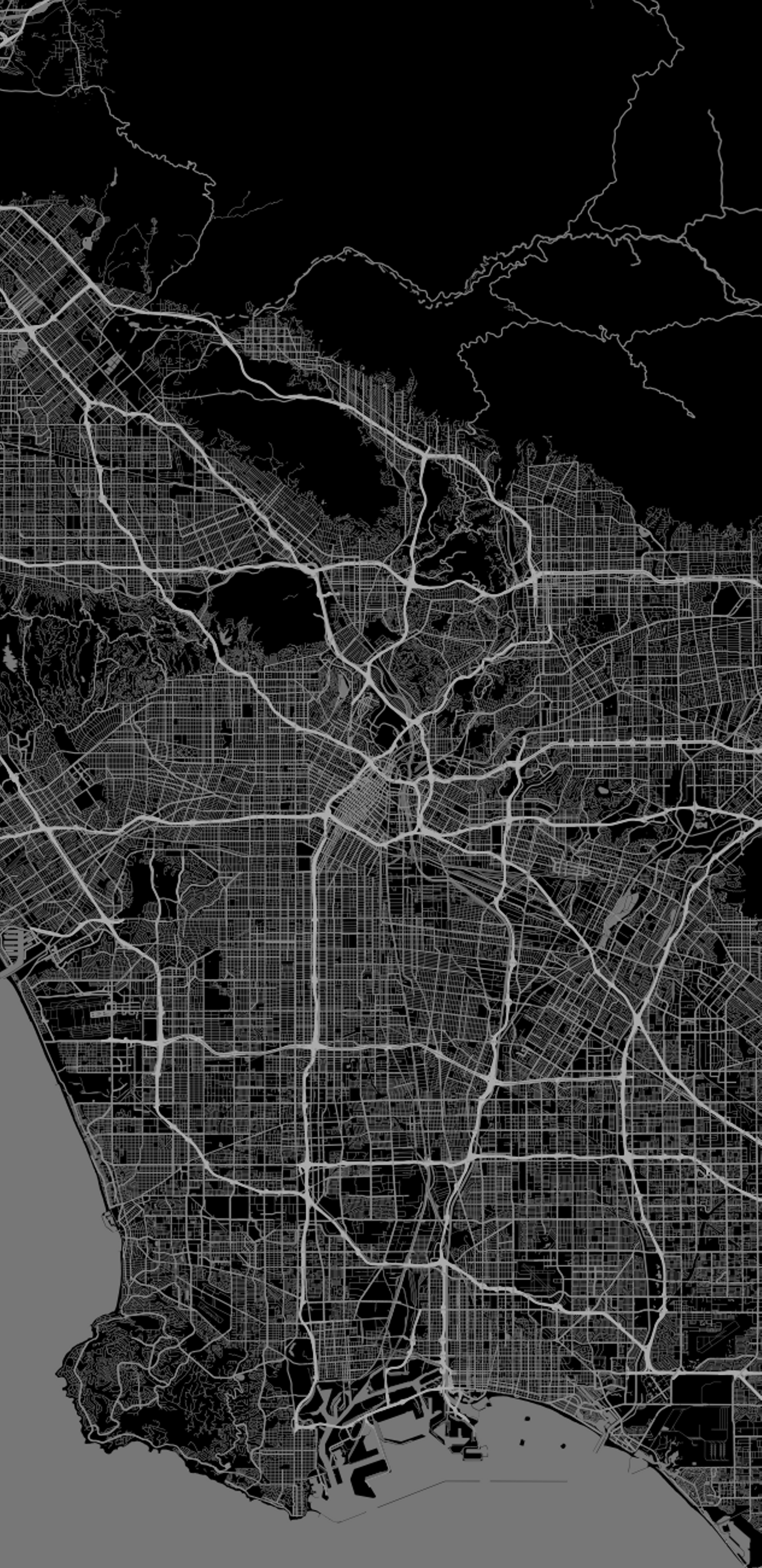 Los Angeles Map Cell Phone Wallpaper Los Angeles Map Wall Paper Phone Los Angeles Iphone Wallpaper