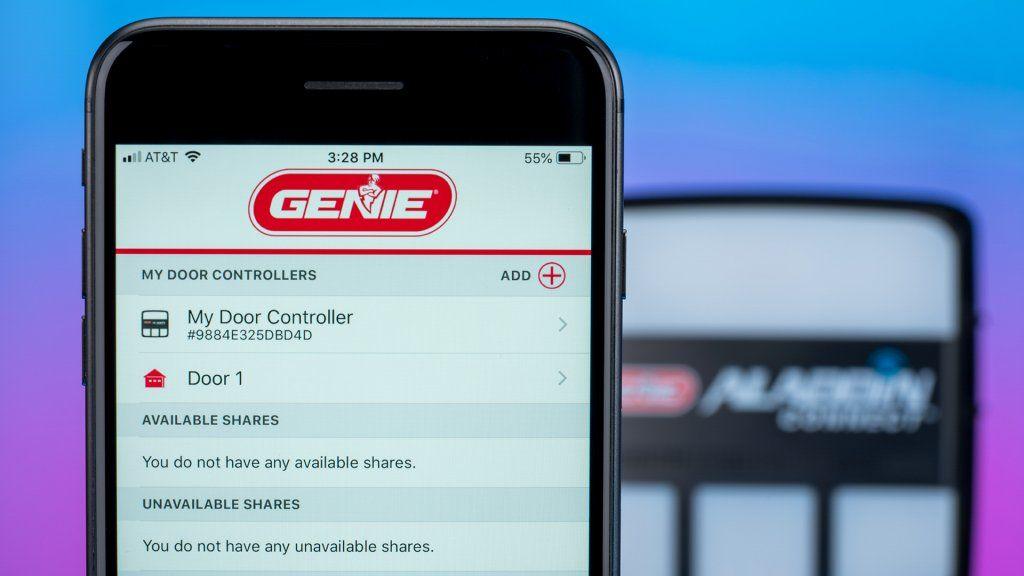 Open Sesame — Genie's Aladdin Connect smart garage door