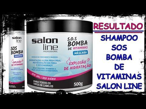 RESULTADO DO SHAMPOO SOS BOMBA DE VITAMINAS SALON LINE (1 mês de uso)  |...
