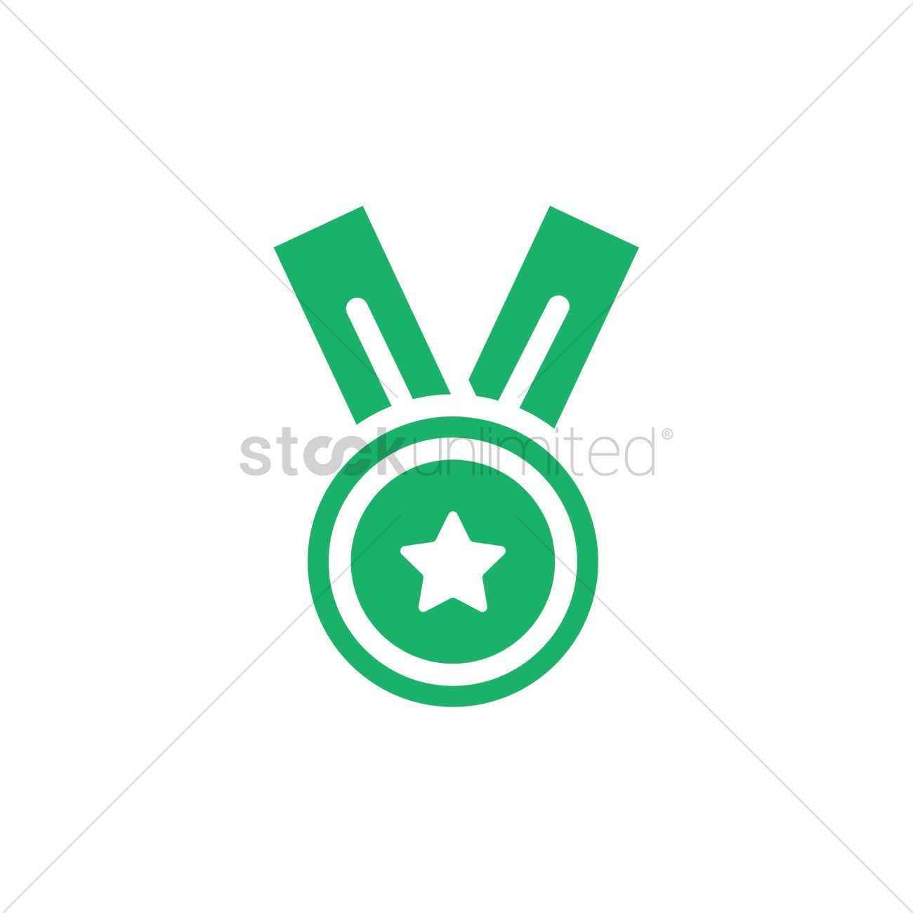 Medal vectors stock clipart