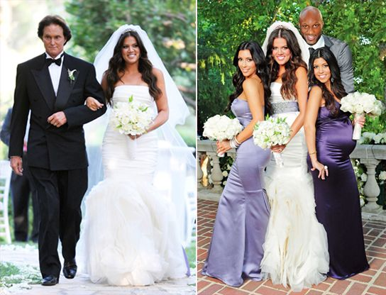Congrats Khloe And Lamar You Re Now Officially Mr And Mrs Odom Kardashian Wedding Celebrity Bride Celebrity Weddings