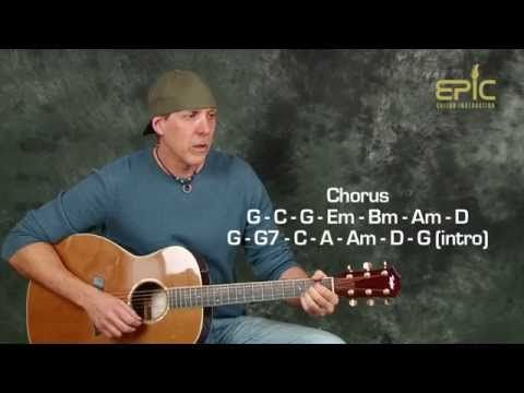 Guitar Lesson Eagles Lyin' Eyes Acoustic Song With Strumming New Wagon Wheel Strumming Pattern