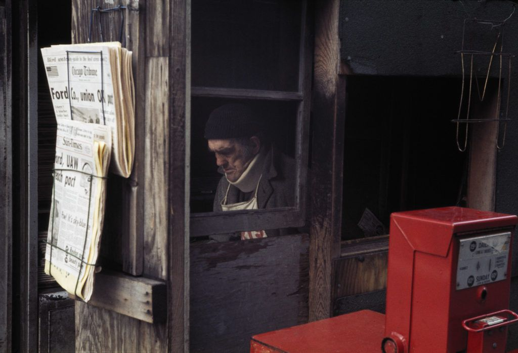 Expo Stands Lightsee : Vivian maiers rare color works show the mysterious photographer in
