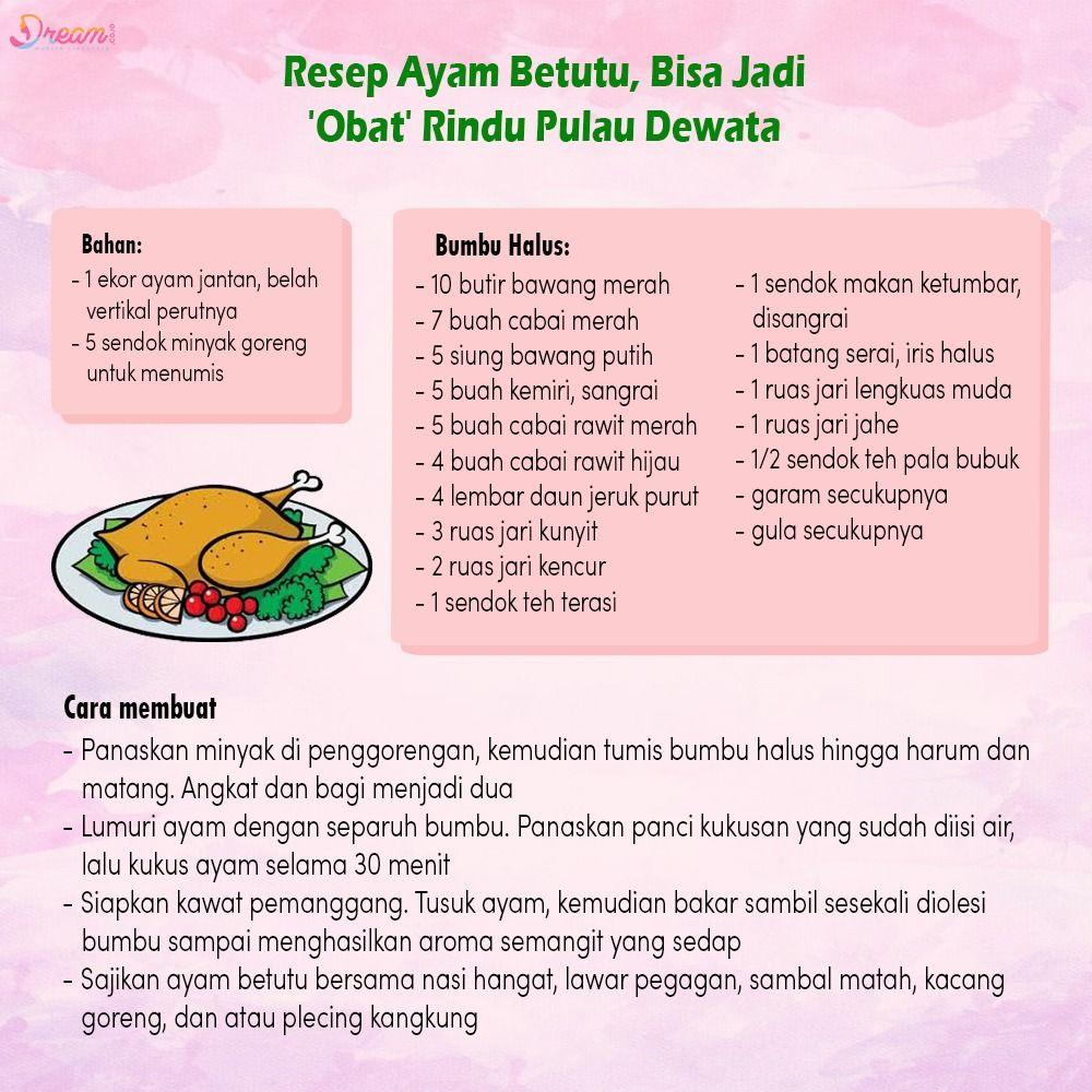 Pin Oleh Dream Co Id Di Culinary Minyak Goreng Resep Ayam Serai