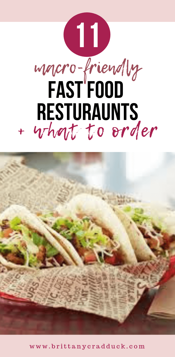 11 Macro-Friendly Fast Food Restaurants + What To Order